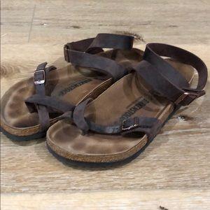 Birkenstock's Size 41 Brown
